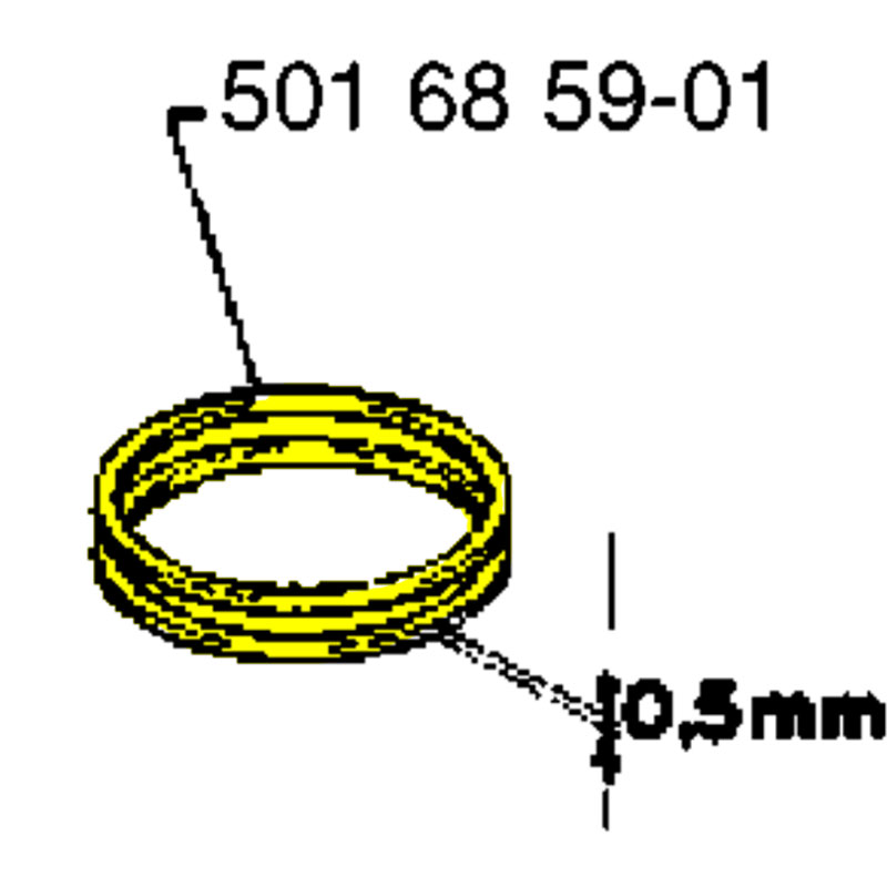 Husqvarna Piston Ring 501685901