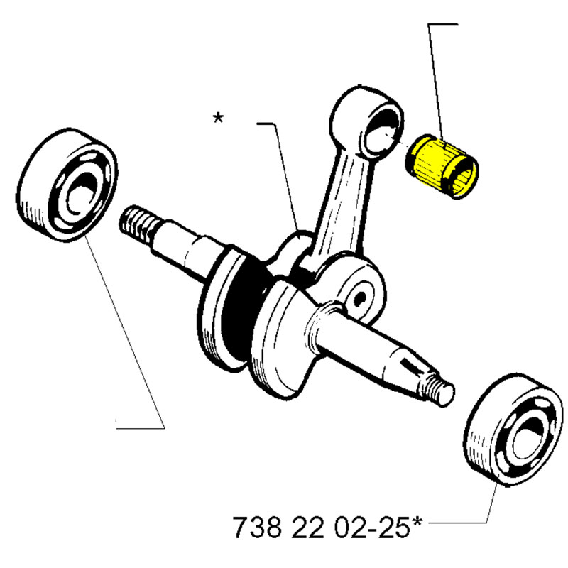 Husqvarna Support Bushing 501861801