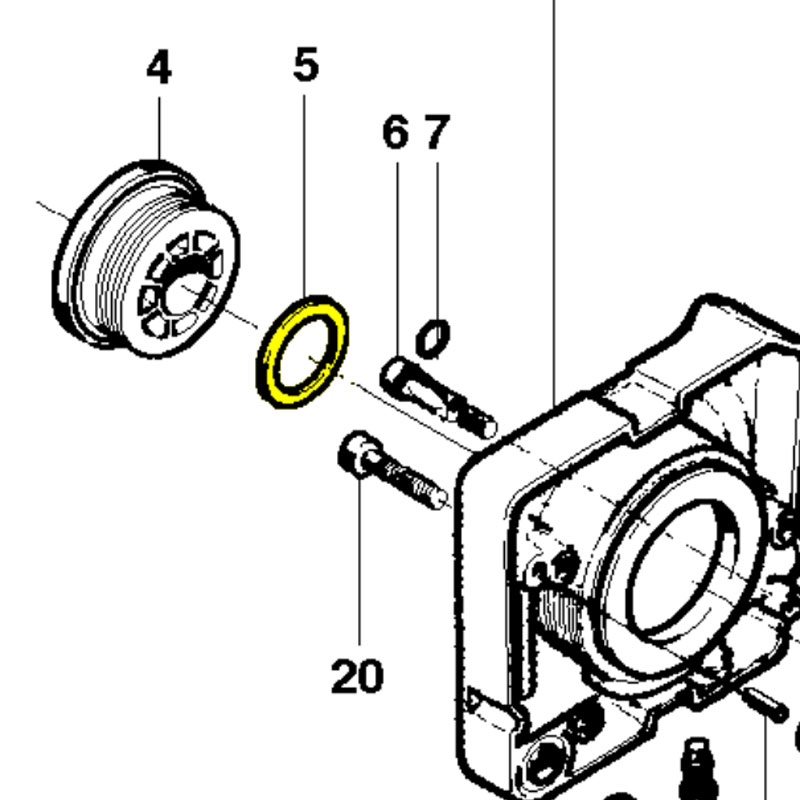 Husqvarna Washer 503230058