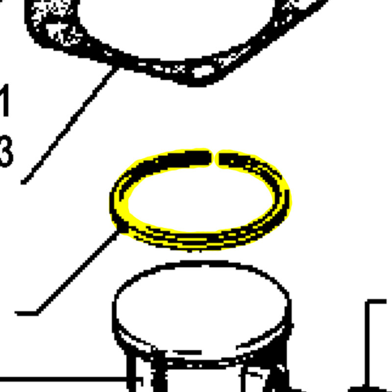Husqvarna Piston Ring 503289017