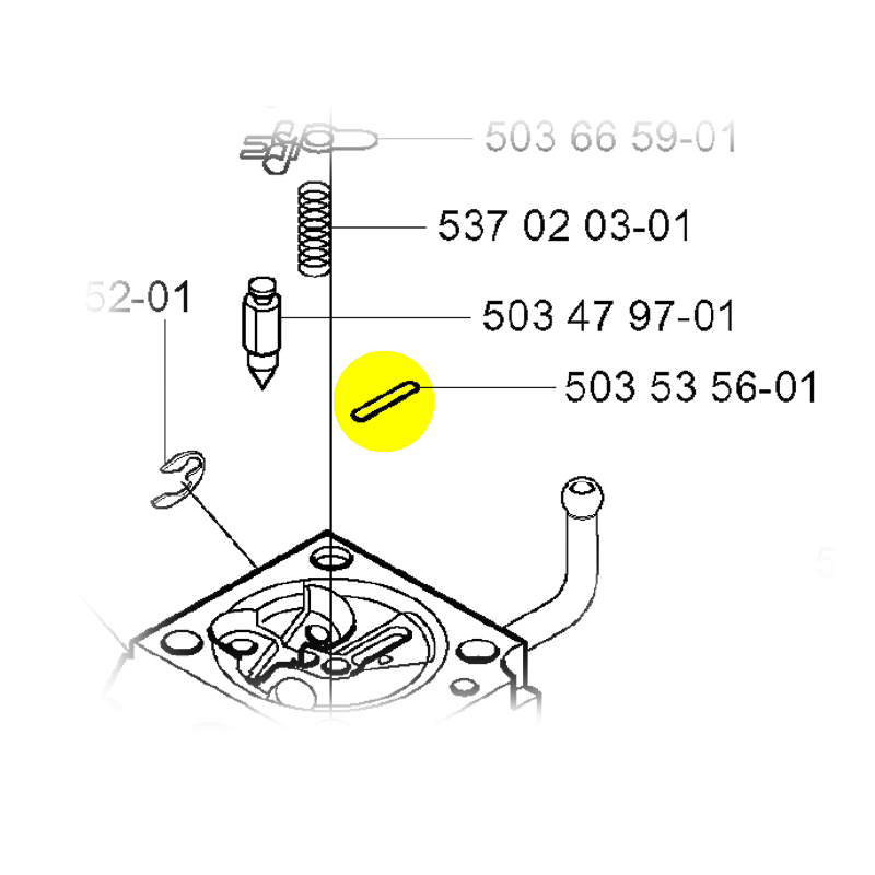 husqvarna plug original part 503535601