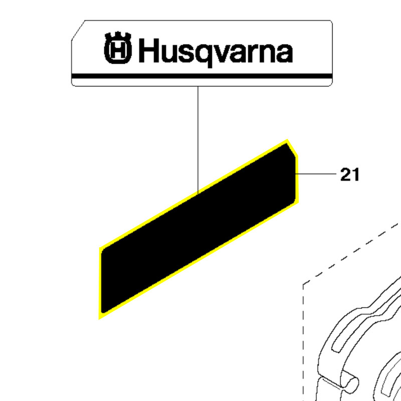 Husqvarna Decal 503768101