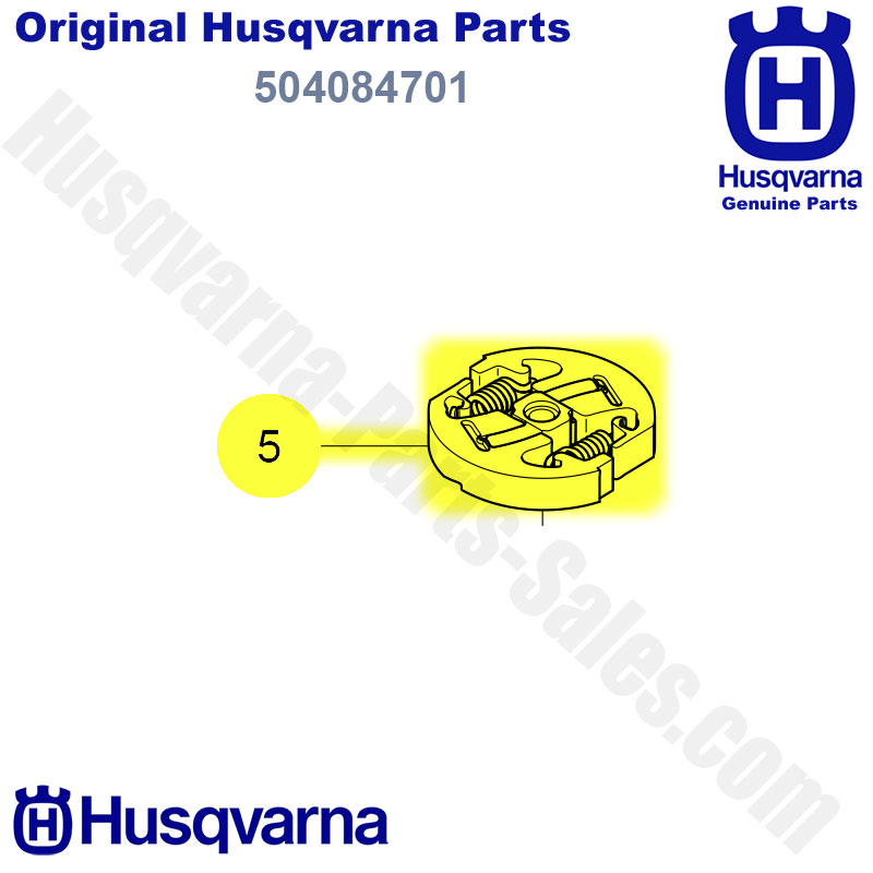 husqvarna 504084701 Clutch Assembly