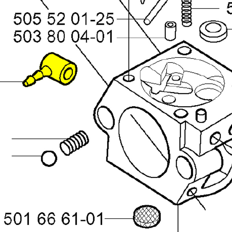 Husqvarna Fitting 504350915