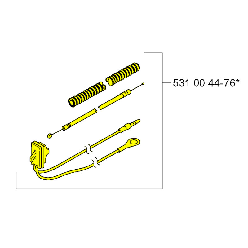 husqvarna 531004476 Cable Assembly