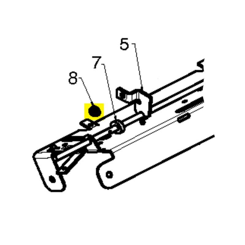 husqvarna screw hex hd tapping 10 24 1 532175262