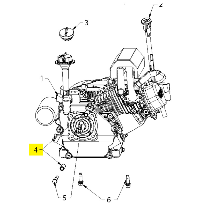 Husqvarna Spacer Engine 532434857