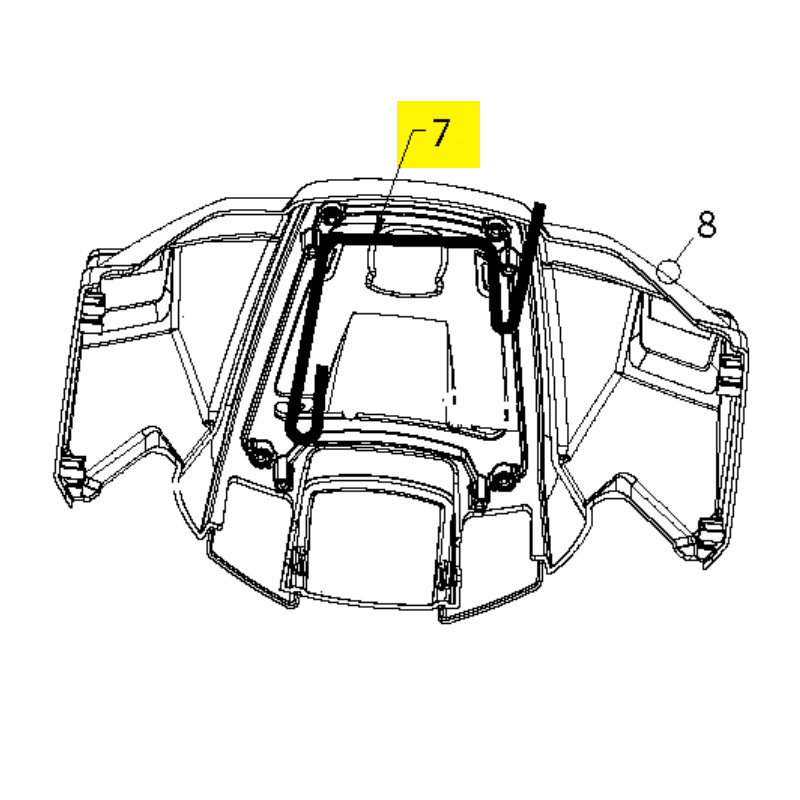 st 121e husqvarna snow thrower handle controls parts. Black Bedroom Furniture Sets. Home Design Ideas