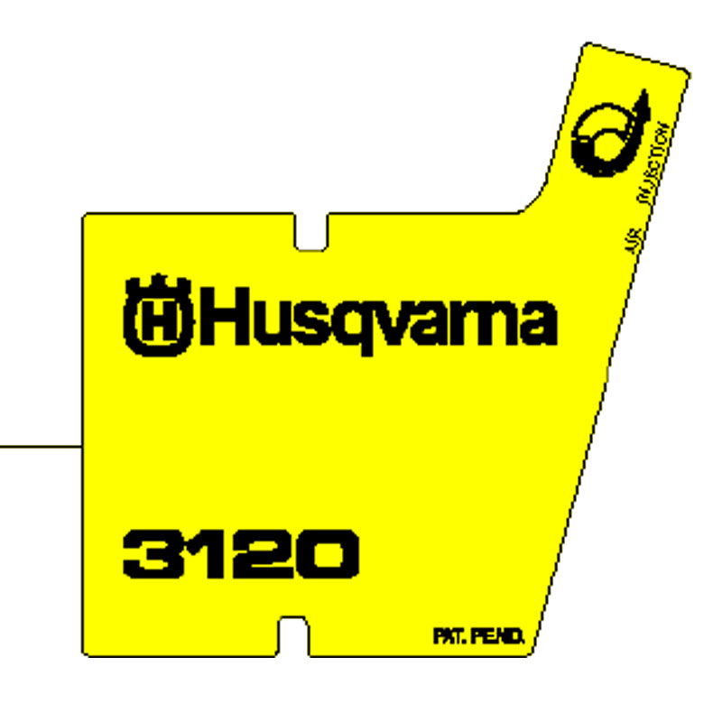 Husqvarna Decal 537096901