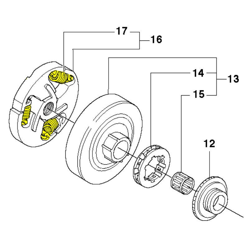 husqvarna 359 chainsaw parts diagram within diagram wiring and engine
