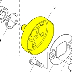 537352901 Husqvarna Clutch Drum
