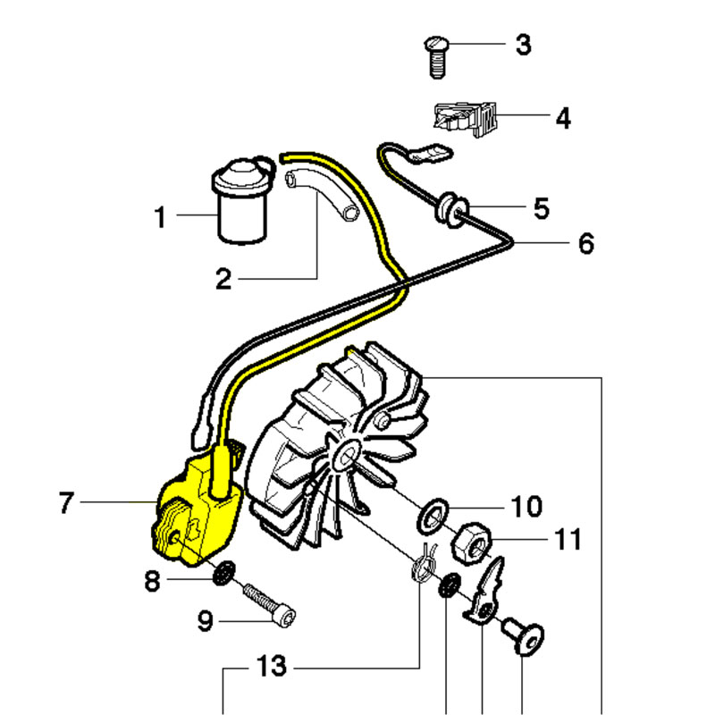Husqvarna 544018801 Ignition Module