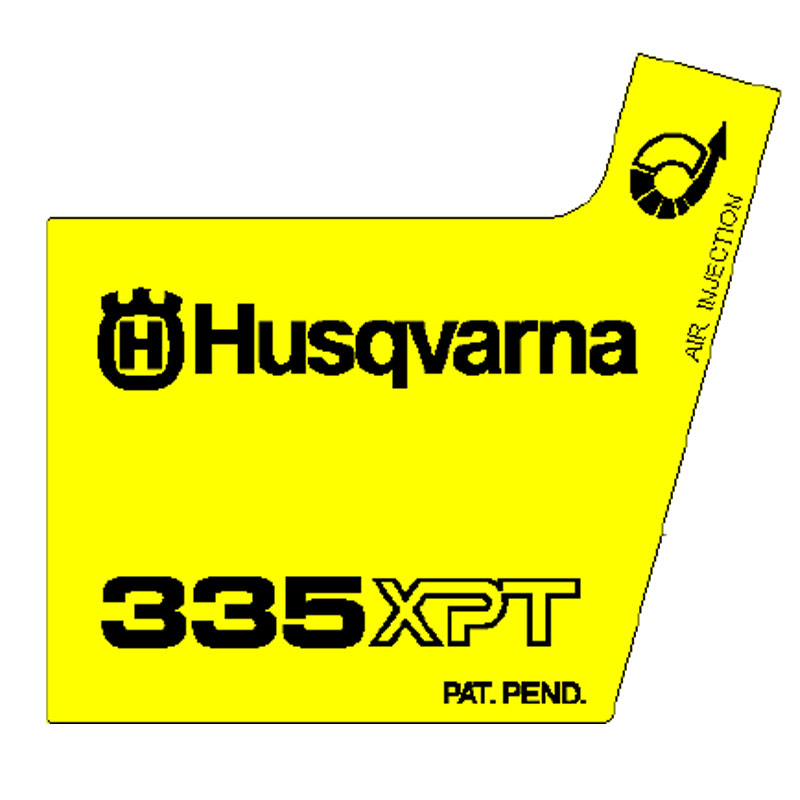 Husqvarna Decal 338 Xpt 544116503