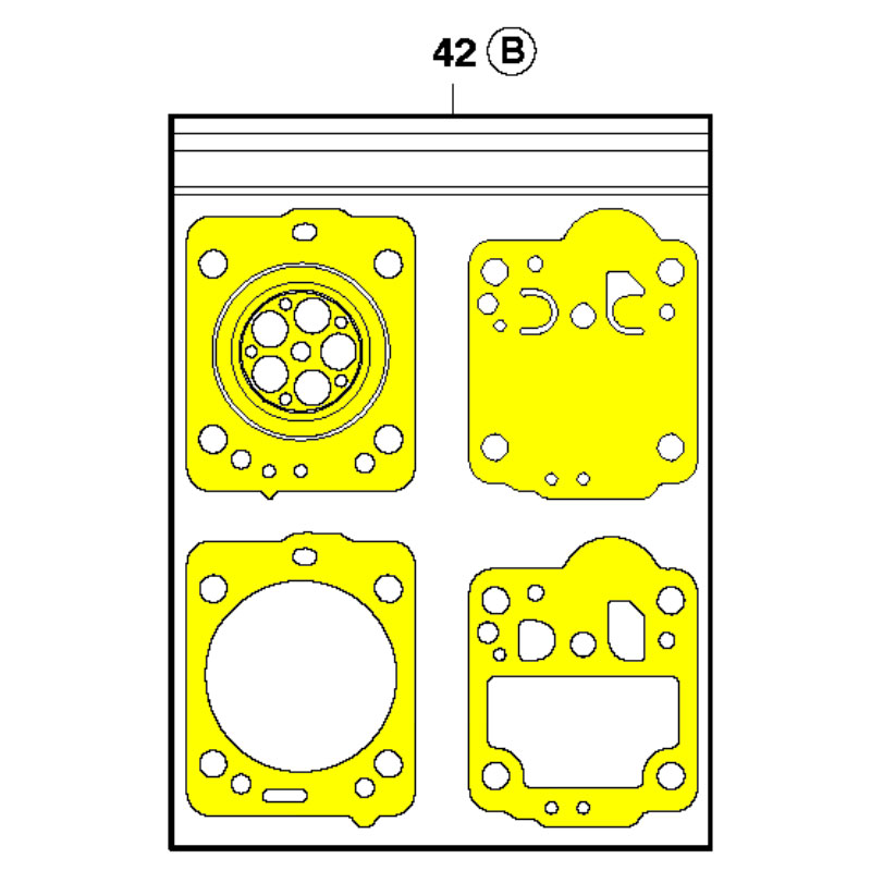Husqvarna Kit Carburetor Gasket 545008031