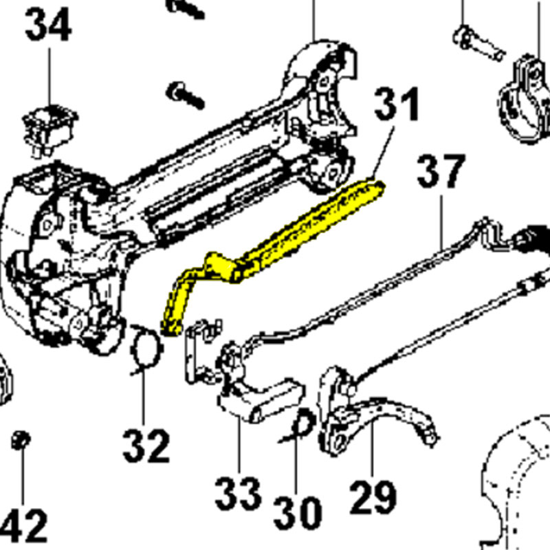 Husqvarna Lever Safety 575385301
