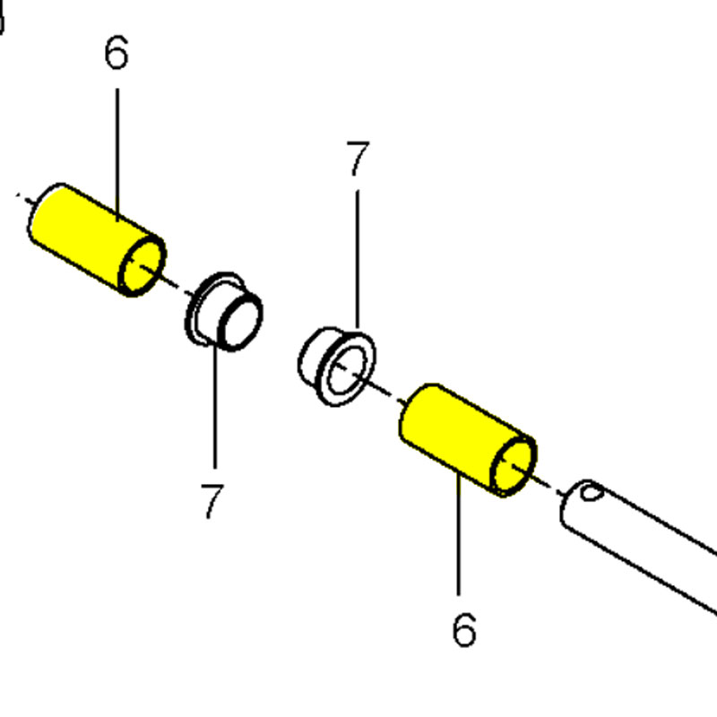 Husqvarna Spacer Shaft Brake 576764001