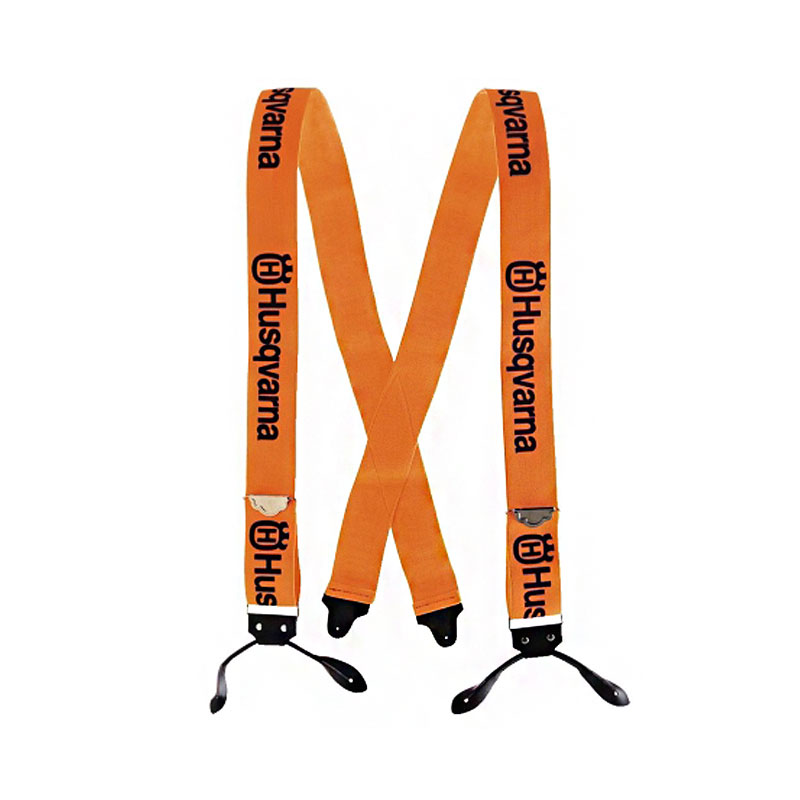 Husqvarna Suspenders Button/Orange 505618510