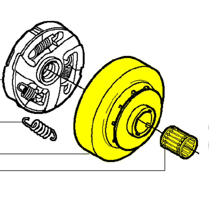 640200173 Husqvarna Clutch Drum