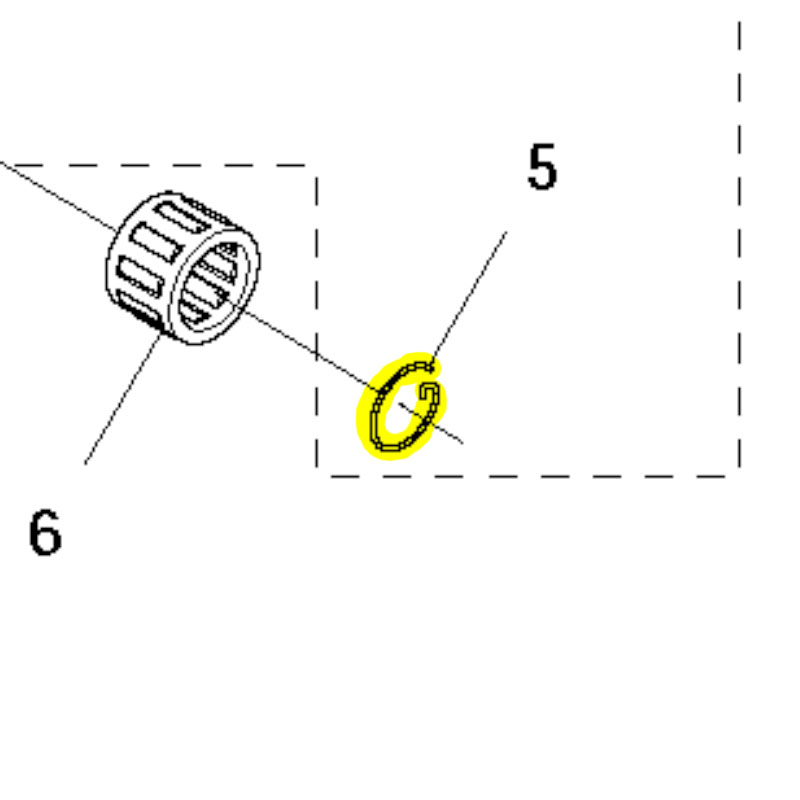 Husqvarna Locking Ring 737441000