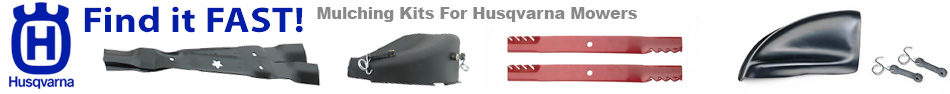 Husqvarna mulching kits, Mulch kits for husqvarna zero turn mowers, ulching kits for husqvarna tractor, mulch kit for husqvarna riding mower