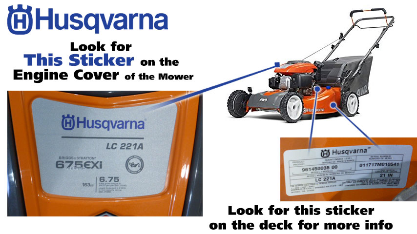 How To Find Your Husqvarna Model Number