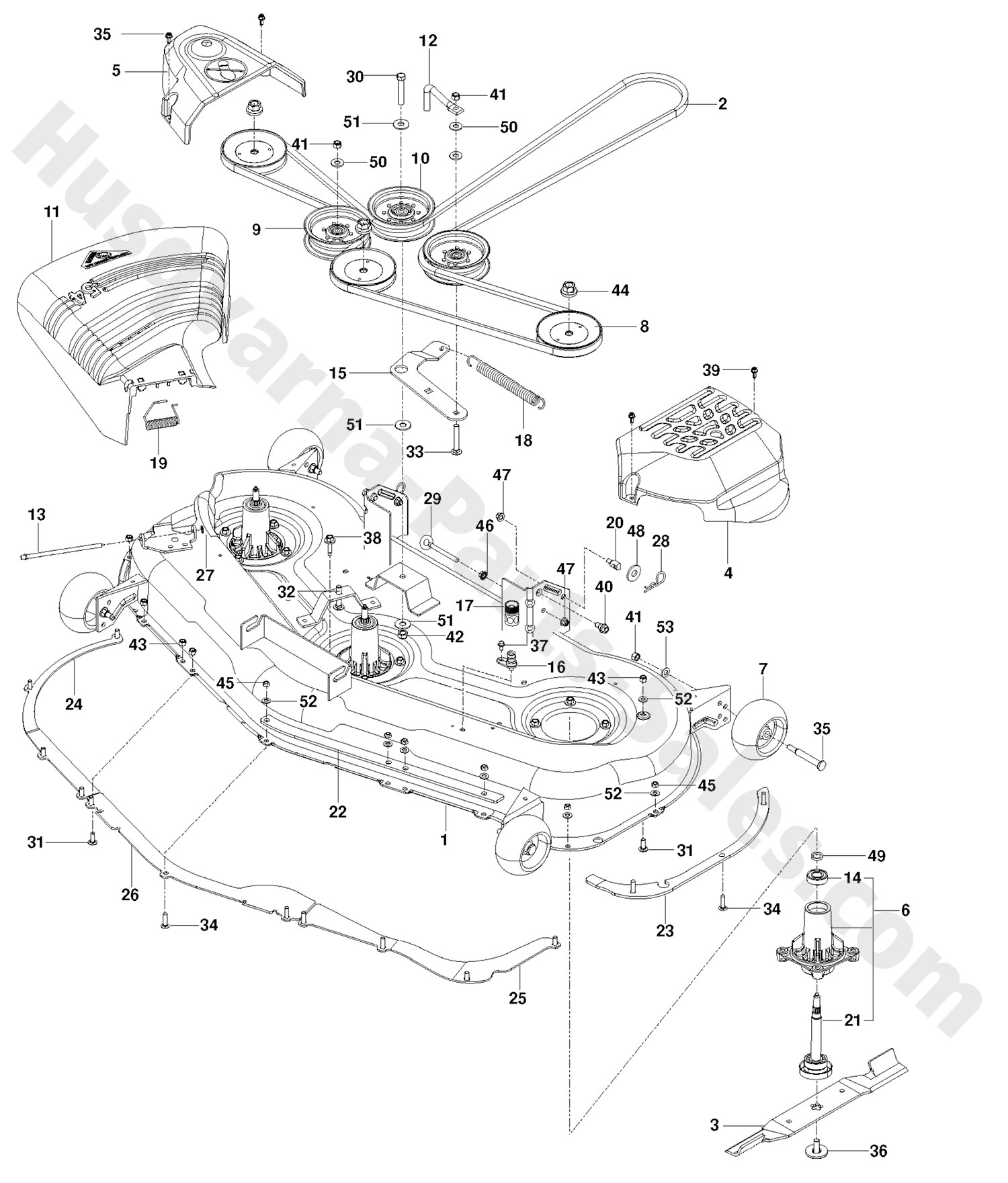 Rz 5424 Wiring Diagram Auto Electrical Husqvarna Tractor Rider 155 Echo