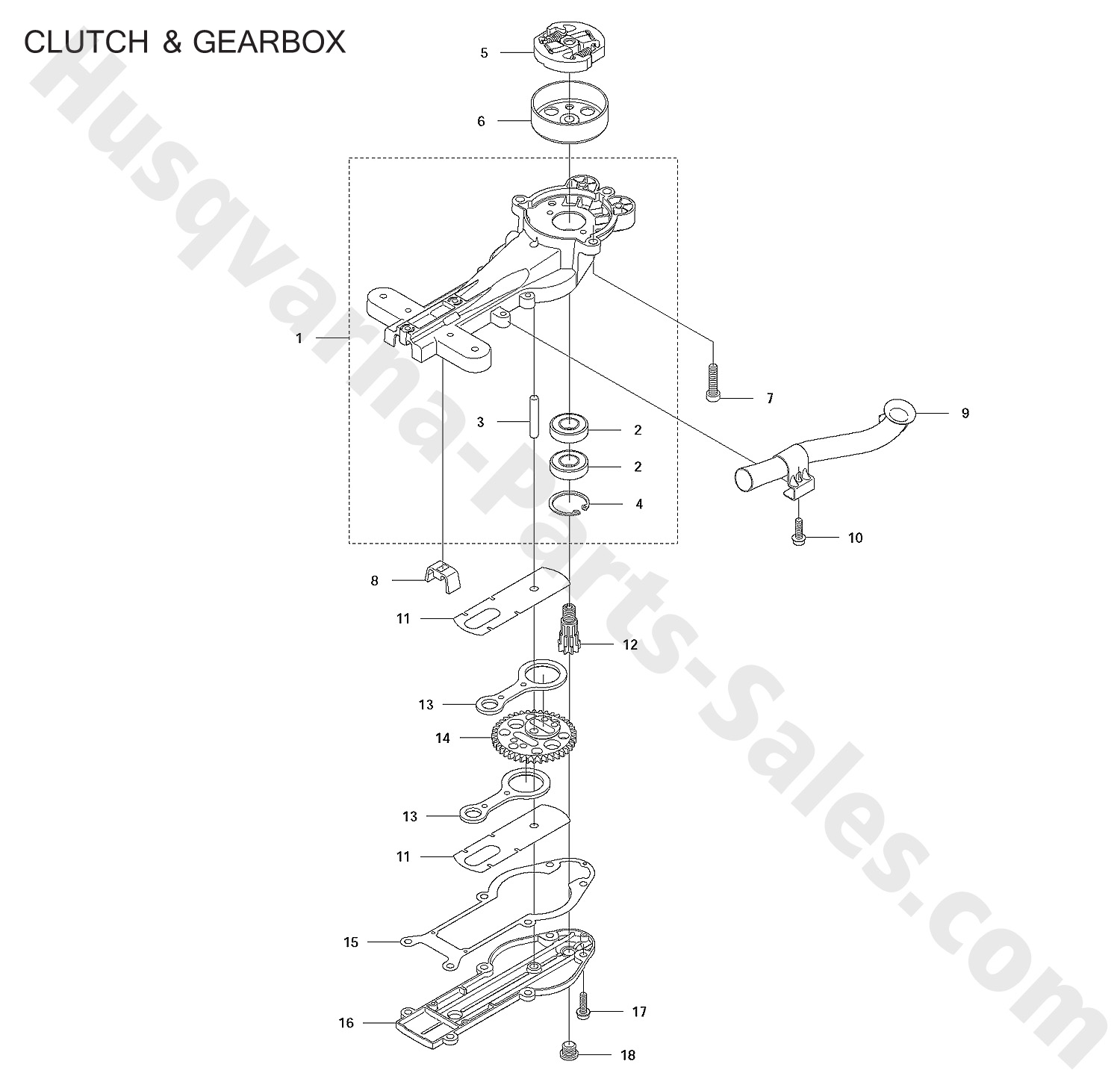 mcculloch chainsaw generator diagram husqvarna chainsaw