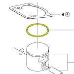 Husqvarna Piston Ring 505215701