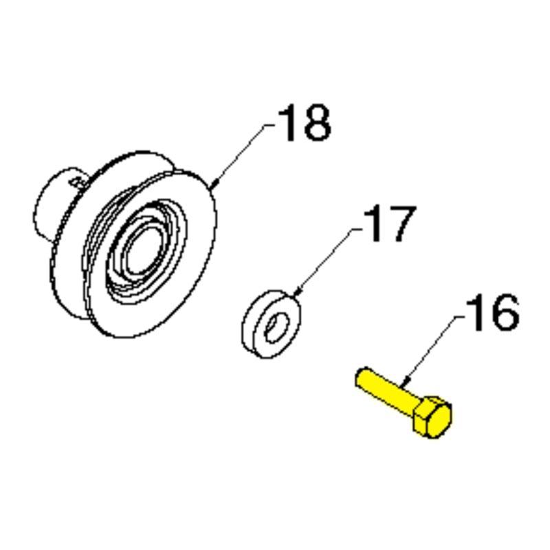 husqvarna screw hex hd 3 8 24 x 1 3 8 532851084
