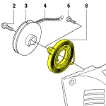 Husqvarna Return Spring 537093101