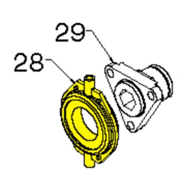 Trunnion Bearing Assembly : Husqvarna trunnion bearing assy