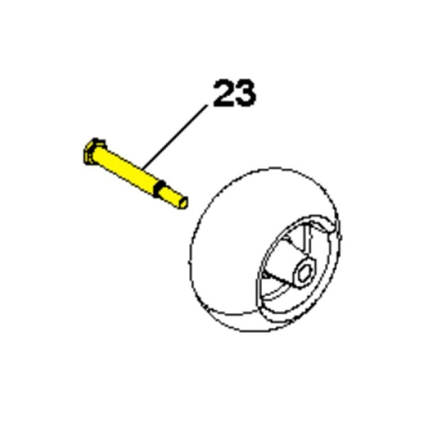 Husqvarna Roller Bolt 532193406 - Genuine Husqvarna Parts
