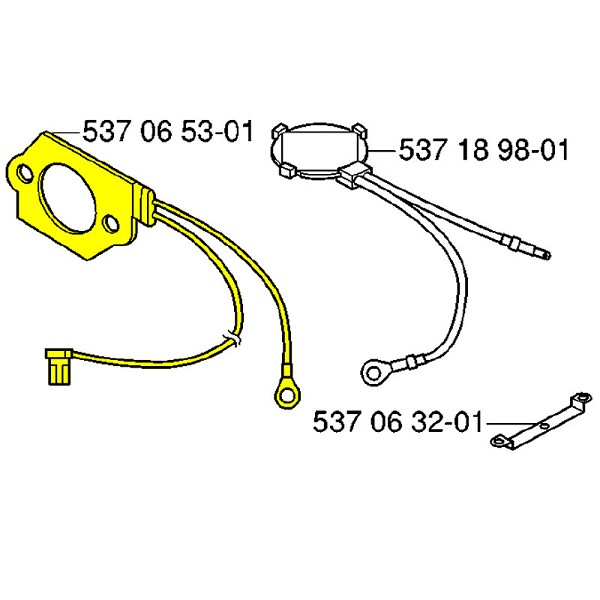 Husqvarna Element 537065301 - Genuine Husqvarna Parts