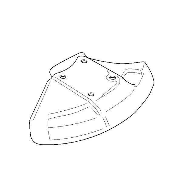 Husqvarna Blade Shield 544016501 - Genuine Husqvarna Parts
