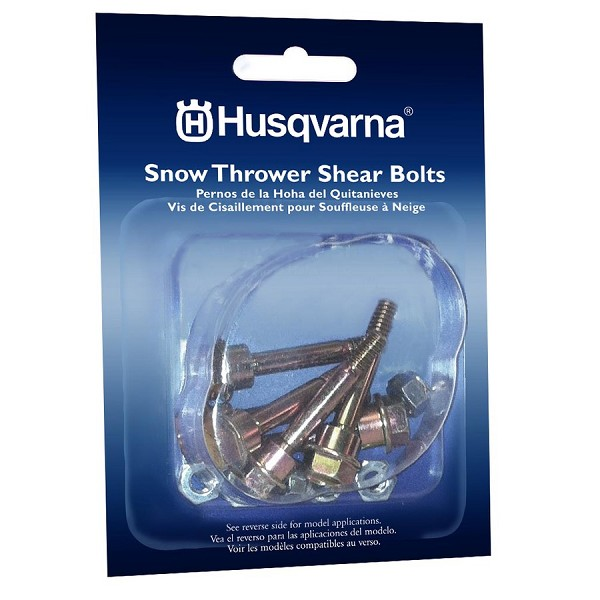 Husqvarna Shear Pins 6-Pack for 2-stage -  580790401