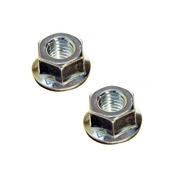 2 Pack Of Bar Nuts For Husqvarna Chainsaws 503220001 - Genuine Husqvarna Parts
