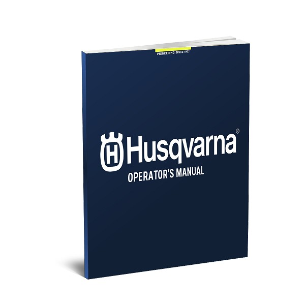 Husqvarna Manual Operators English/French 961430088 115634232 - Genuine Husqvarna Parts