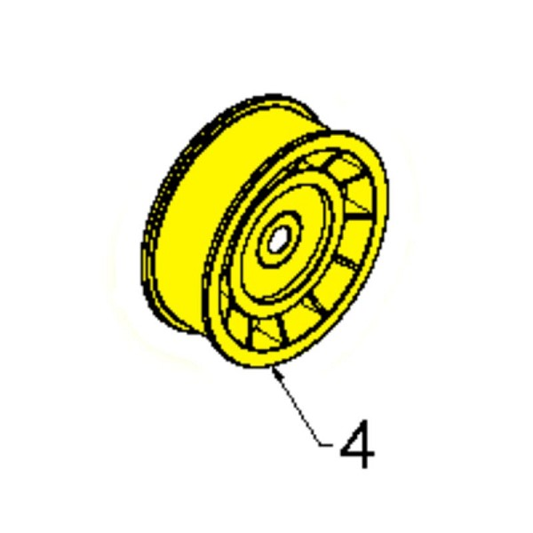Husqvarna Pulley With Spacer 2 75 532180523 - Genuine Husqvarna Part